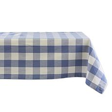 "Design Imports Buffalo Check Tablecloth - 60"" x 84"""