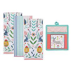 Design Imports Easter Garden Kitchen Set 4-pack