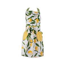 Design Imports Lemon Bliss Printed Apron