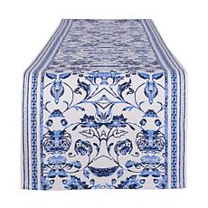 """Design Imports Madiera Print Table Runner 14"""" x 72"""""""