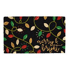 Design Imports Merry & Bright Lights Doormat