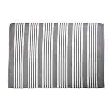 Design Imports Multi Stripe Outdoor Rug 4' x 6'