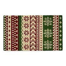 Design Imports Nordic Stripe Doormat