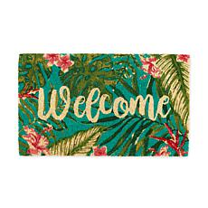 Design Imports Tropical Welcome Doormat