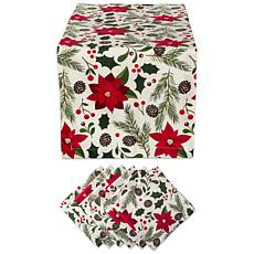 Design Imports Woodland Christmas Table Set