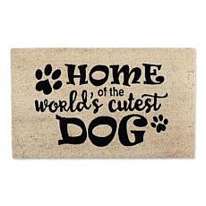 Design Imports World's Cutest Dog Doormat