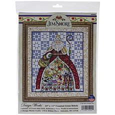 Design Works Counted Cross Stitch Kit  - 12 Days by Jim Shore