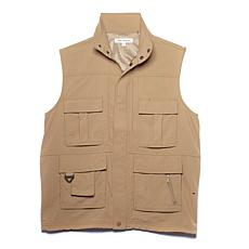 Destinations Men's 15-Pocket Travel Vest - Plus