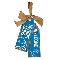Detroit Lions 12 Inch Team Tags