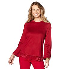 DG Bell Sleeve Top w/ Lace