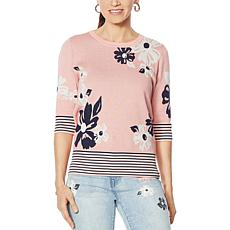 DG2 by Diane Gilman Daisy Sweater Knit Top