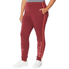 """DG2 by Diane Gilman """"DG Downtime"""" French Terry Jogger Pant"""