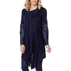 DG2 by Diane Gilman Hooded Sweater Knit Topper