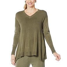 DG2 by Diane Gilman Lux Touch Boxy Sweater
