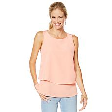 DG2 by Diane Gilman Mixed-Media Easy Tank - Fashion