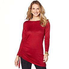 DG2 by Diane Gilman  Side Drawstring Sweater