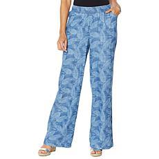 DG2 by Diane Gilman  SoftCell Denim Wide-Leg Pant - Fashion