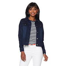 DG2 by Diane Gilman Virtual Stretch Denim Jacket