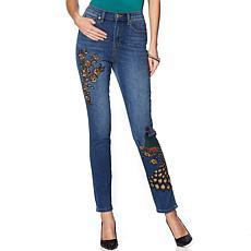 DG2 by Diane Gilman Virtual Stretch Novelty Skinny Jean - Basic