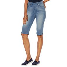 DG2 by Diane Gilman Virtual Stretch Pull-On Bermuda Short - Basic