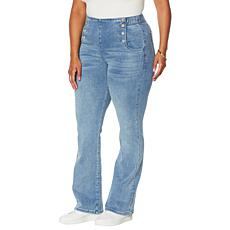 DG2 by Diane Gilman Virtual Stretch Pull-On Sailor Bootcut Jean