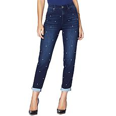 DG2 by Diane Gilman Virtual Stretch Scattered Pearl Jean