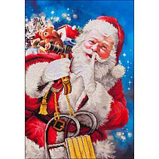 Diamond Dotz Diamond Embroidery Facet Art Kit  - Santa's Secret