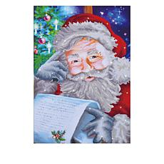 Diamond Dotz Diamond Embroidery Facet Art Kit - Santa's Wish List