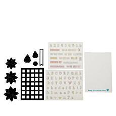 Diamond Press Alphabet Stamps and Tile Dies