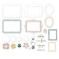 Diamond Press Doodle Frames Stamp and Die Bundle