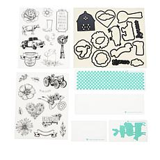 Diamond Press Farm Fresh Stamp, Die and Folder Bundle