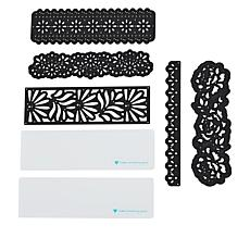 Diamond Press Large Lace Border Die Kit