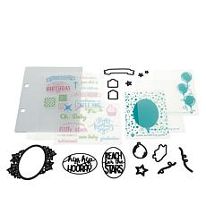 Diamond Press Occasions Stamp and Die Kit