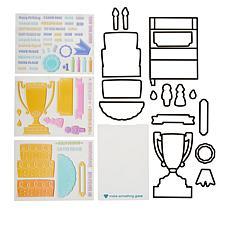 Diamond Press Standing Card Stamp and Die Kit