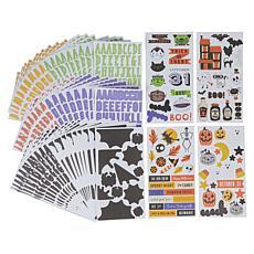 Diamond Press Trick or Treat 100-Sheet Sticker Pack
