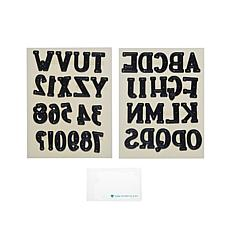 Diamond Press Vintage Alphabet Die Cutting Set