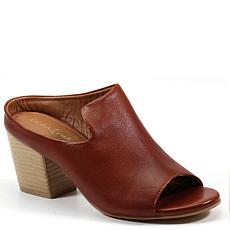 Diba True Catch She Leather Peep-Toe Mule