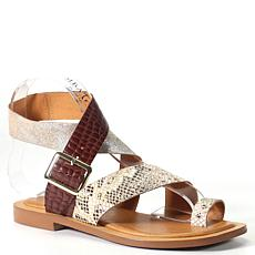 Diba True Cite See Leather Toe-Loop Sandal