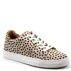 Diba True Gizz Mo Leopard-Print Haircalf Leather Sneaker