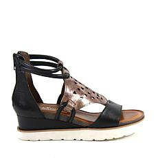 Diba True Glowing Platform Wedge Sandal
