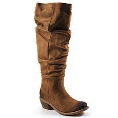 Diba True Line Walker Suede Slouch Boot