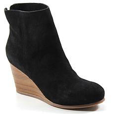 Diba True Now Wow Suede Wedge Bootie