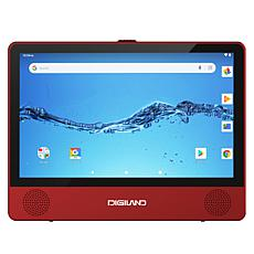 """Digiland 9"""" Android Tablet with DVD Player & Redbox Rentals"""