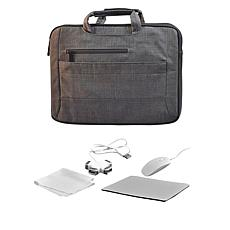 "Digital Basics 2-in-1 Laptop Sleeve for 17"" Laptop with Accessories"