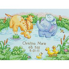Dimensions Cross Stitch Kit - Little Pond Birth Record