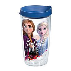 Disney Frozen 2 Anna Elsa Journey 16 oz Tumbler with lid