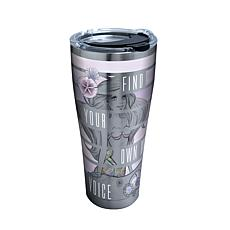 Disney Little Mermaid Find Your Voice 30 oz Stainless Steel Tumbler...