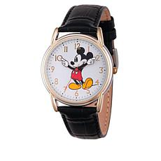 Disney Mickey Mouse 2-tone Moving Hands Watch