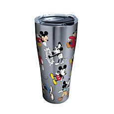 Disney Mickey Mouse 90th Birthday 30 oz Stainless Steel Tumbler wit...