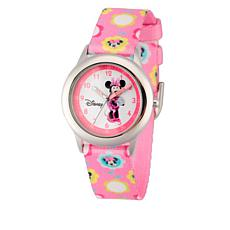 Disney Minnie Mouse Kid's Time-Teacher Watch - Pink